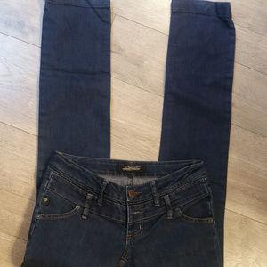 Serfontaine Dark Wash Skinny Jeans